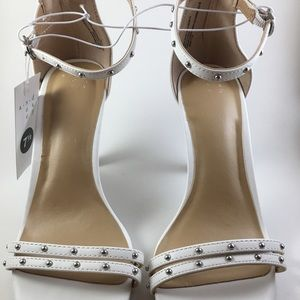 Women's Enya Studded Barely There Pump Heels